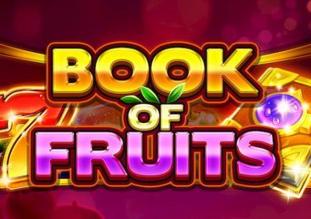 Boek van fruit