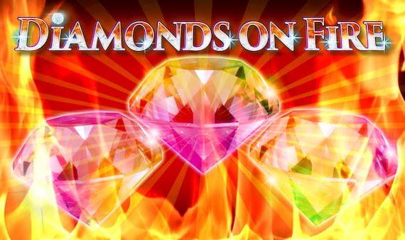 Mga diamante sa Sunog